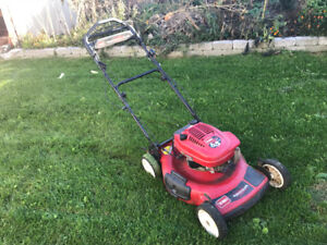 Toro  recycler, 6.5hp with personal pace and electric start