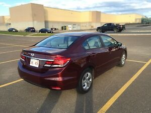 2014 Honda Civic Sedan - Lease Takeover with cash incentive.