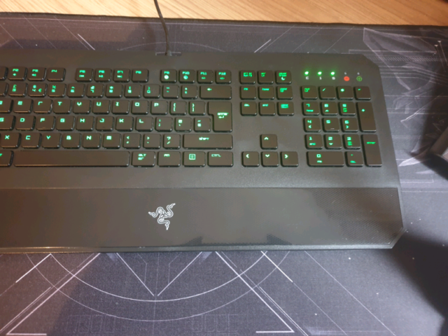 Razer Deathstalker Gaming Keyboard | in Stoke-on-Trent, Staffordshire |  Gumtree