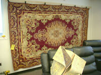 Persian style rug. $199. 6 feet by 10 feet. Other sizes availabl