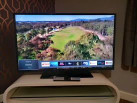 """40"""" SMART POLAROID FREEVIEW TV WITH WIFI APPS AND REMOTE WE DELIVER"""