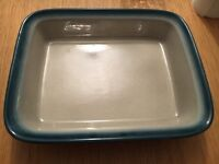 """Wedge wood Blue Pacific 13"""" serving dish"""