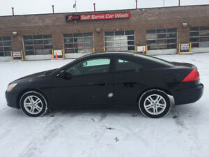 2007 HONDA ACCORD COUPE**REM START**
