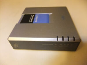► Linksys PAP2T Dlink HT701 ATA VoIP Phone Adapter Unlocked Genu