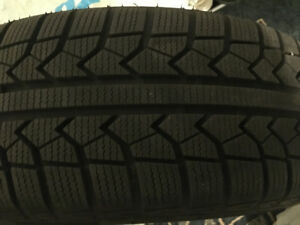 MOMO Winter Tires with RIMS, Used Only one Winter