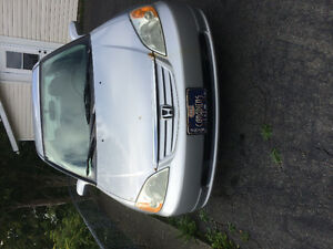 2003 Honda Civic Silver Sedan