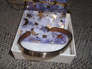 Attractive Striped MAGNETIC Bracelet