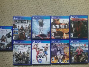 almost new ps4 games