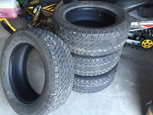 Set of PRO COMP ALL TERRAIN 275/60R20 (tires only)