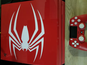 PS4 Pro 1TB Spiderman limited edition