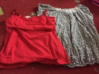 Maternity clothes Size: 16/18