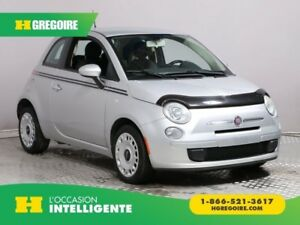 2012 Fiat 500 Pop A/C GR ELECT BLUETOOTH