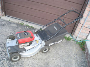 Self-Propelled 5 HP 3-in-1 Craftsman Gas Lawnmower with Bag