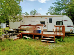 2012 Catalina 30 BHS  travel trailer .