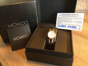 Movado Amerosa NEW- 1 Year Warranty purchased at Peoples