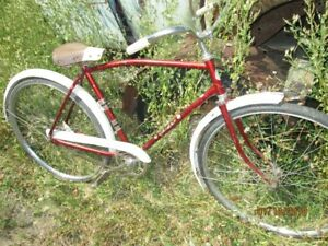 VINTAGE EATONS GLIDER COASTER BICYCLE FOR SALE