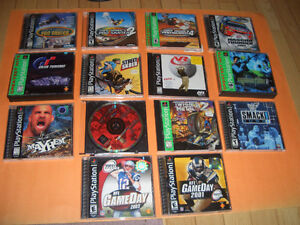 (32) PLAYSTATION 1 GAMES FOR SALE WWE SMACKDOWN,WCW MAYHEM London Ontario image 2