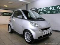 Smart ForTwo CABRIO PASSION 71 Semi Auto [LEATHER, HEATED SEATS and 30 ROAD TAX]