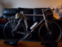 Competition 1981 PXN10 Peugeot racing bike, 2 sets of wheels