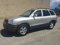 2004 Hyundai Santa Fe Leather/Roof/Loaded/Certified and E-Tested City of Toronto Toronto (GTA) Preview