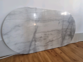 Marble bistro tabletop