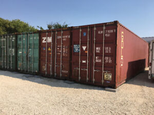 Storage Container Parking Storage Units for Rent in Winnipeg