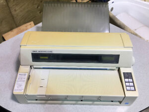 Used Okidata Microline 8480FB printer