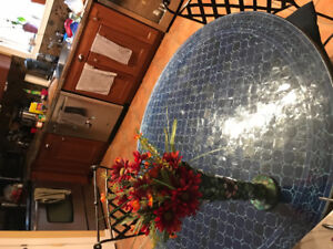 Indoor or Outdoor Tiled Table