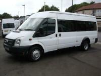 FORD TRANSIT 17 SEAT MINIBUS 135PS 6 SPEED EU COC DIGITAL TACHOGRAPH PSV AIR CON