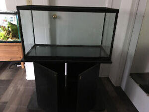 60 gallon fish tank with stand $60