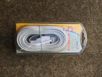 10 metre phone extension cable