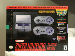 Brand New! SNES Classic Edition (sealed)