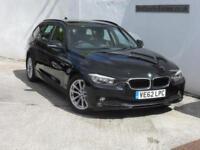 BMW 320 2.0TD ( 184bhp ) Touring SE full leather 2012 62reg