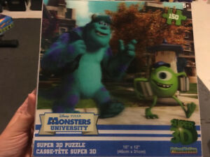 Casse tête Monsters University