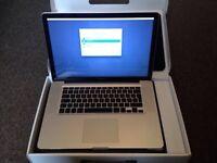 """Apple MacBook Pro 15"""" 2.4ghz i5 SSD Adobe cs6 Logic Pro X Final Cut MS Office 2016"""