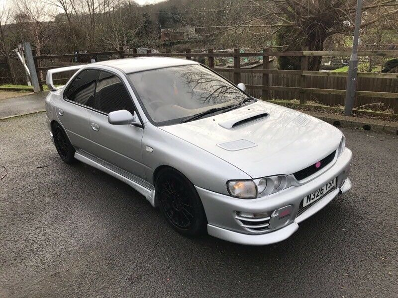 1995 SUBARU IMPREZA WRX STI BC COILOVERS MODIFIED TURBO | in High ...