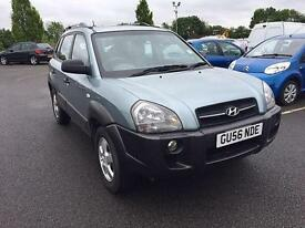 Hyundai Tucson 2.0 16v GSI**PETROL**ONE OWNER FROM NEW**ONLY 51,000 MILES**FSH**