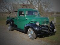1941 DODGE PICKUP - 1/2 Ton - Restored, Safety Certified