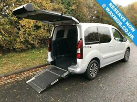 2016 Peugeot Partner Tepee Wheelchair Accessible 5 Seat Disabled Access Petrol W