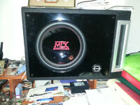 "12"" MTX sub and Rockfosgate Punch P325.1"