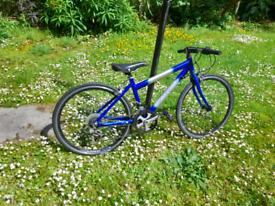 Serviced mercur90 kids road bike