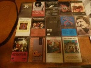 14 Assorted Cassettes for Sale