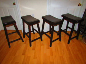 4 Beautiful Saddle Stools in great shape 4 the buck must see.