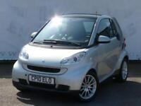 2010 SMART FORTWO COUPE PASSION MHD AUTOMATIC ONE OWNER SERVICE HISTORY LOW MILE