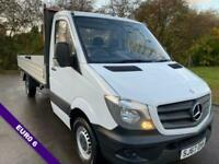 Mercedes Sprinter 314Cdi 3.5t Euro 6 14ft (4m.) Dropside 1 Owner, Very Clean