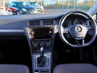 2017 Volkswagen Golf 1.0 TSI 110 SE [Nav] 5dr DSG Auto Hatchback Petrol Automati