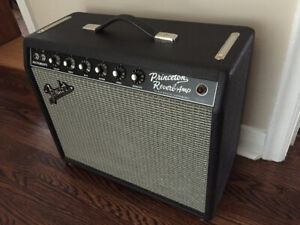 Fender '65 Princeton Reverb Tube Guitar Amplifier MINT Condition