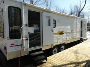 Roulotte sunset Creek 33pied 2009 camping Atlantide