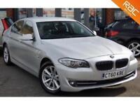 2010 60 BMW 5 SERIES 2.0 520D SE 4D AUTO 181 BHP DIESEL 62MPG! HIGH SPEC!