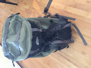 MEC brand Backpack and rain cover